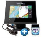 Simrad Eco/Gps GO-5 XSE con Trasduttore DownScan e Antivegetativa ECO #62600400