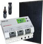 Kit Solare Fotovoltaico 12V 260W Poly e Regolatore Solare MPPT 20A #30200293