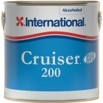 International Antivegetativa Cruiser 200 Bright White 2,5lt Bianco Brillante #458COL1201