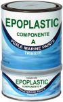 Marlin - Epoplastic A+B Bianco Fondo Epossidico 0,75lt x Trattamenti Antiosmosi - Codice: 461COL554