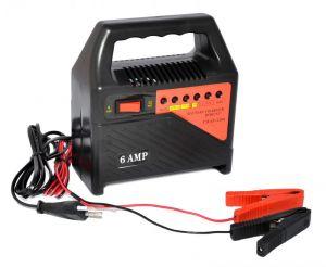 Caricabatterie portatile 6-12V 6A per Batterie ad Acido #21020967