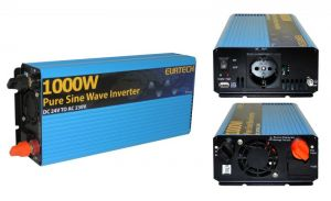 Inverter Onda Sinusoidale Pura 1000W/2000W 24VDC-230V AC Eurteck - #22020931