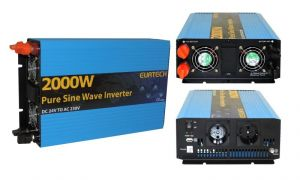 Inverter Onda Sinusoidale Pura 2000W/4000W 24VDC-230V AC Eurteck - #22020935