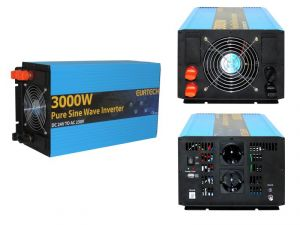Inverter Onda Sinusoidale Pura 3000W/6000W 24VDC-230V AC Eurteck - #22020939