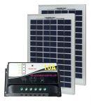 Kit Solare Fotovoltaico 5W 12V Poly + Regolatore PWM 10A Nautica Camper Baita #30200005