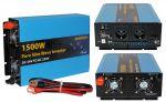 Inverter Onda Sinusoidale Pura 1500W/3000W 24VDC-230V AC Eurteck #22020933