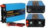 Inverter Onda Sinusoidale Pura 1500W/3000W 12VDC-230V AC Eurteck #22020934